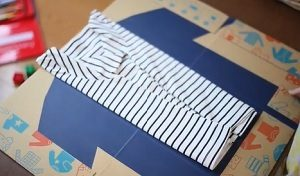 子どもに服のたたみ方を教えてくれるダンボール 楽天市場 まちかど情報室 おはよう日本