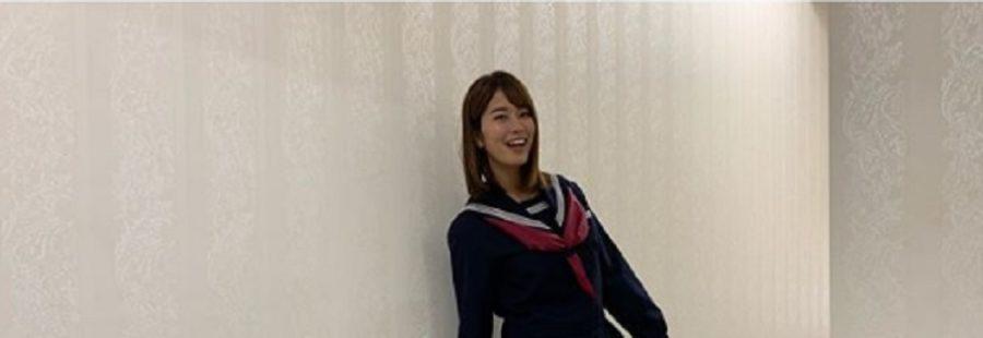 稲村亜美ハプニング・セーラー服姿をInstagramに投稿し美脚が話題